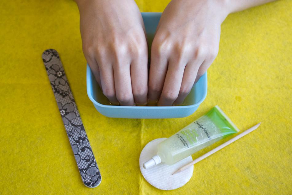 Выращивание ногтей в домашних условиях за 1 день 21