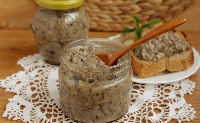грибная икра из маринованных грибов рецепт