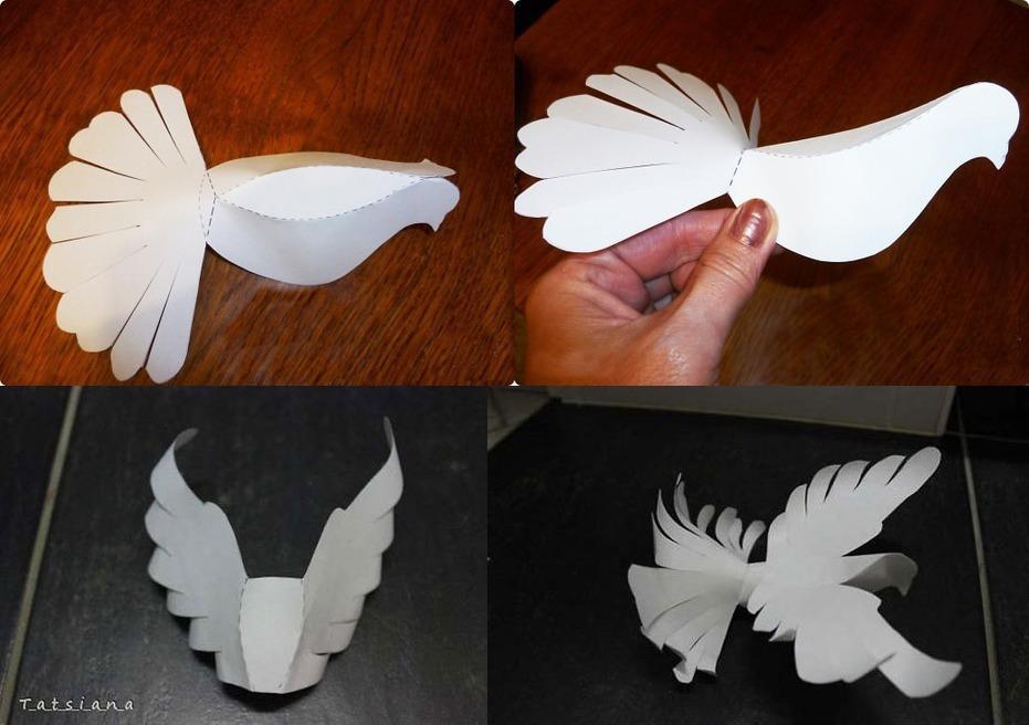 Открытка птица счастья своими руками 60