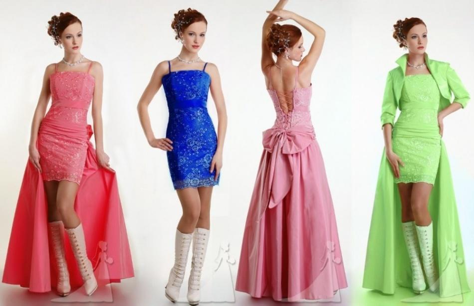 Сшить платье на выпускной фасон