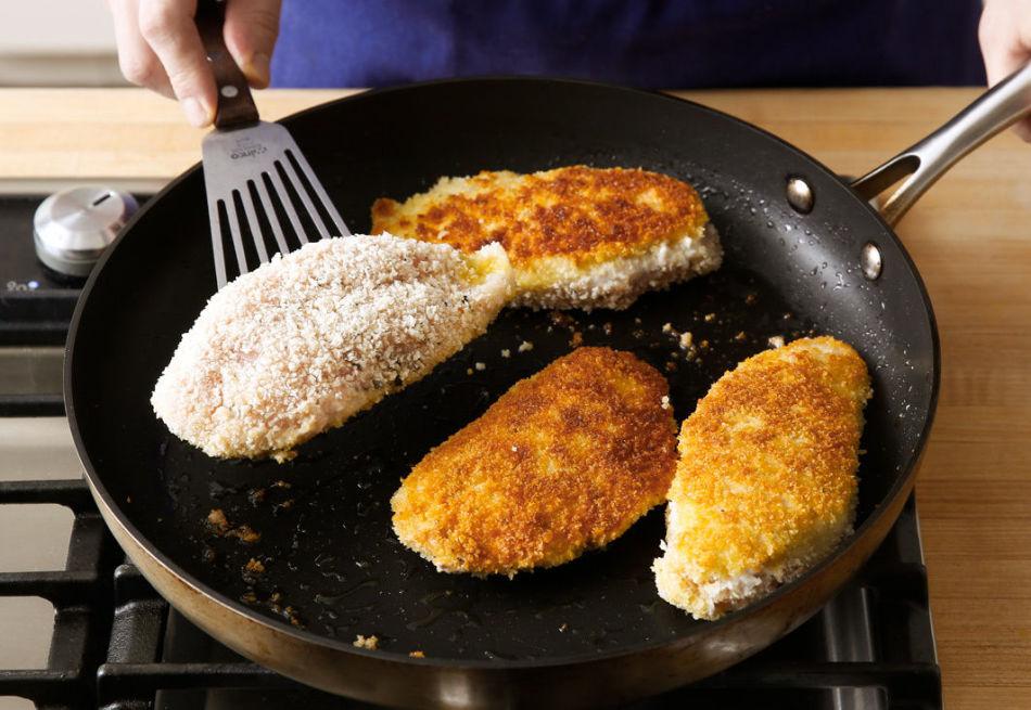 На каком масле нужно жарить различные виды мясных полуфабрикатов?