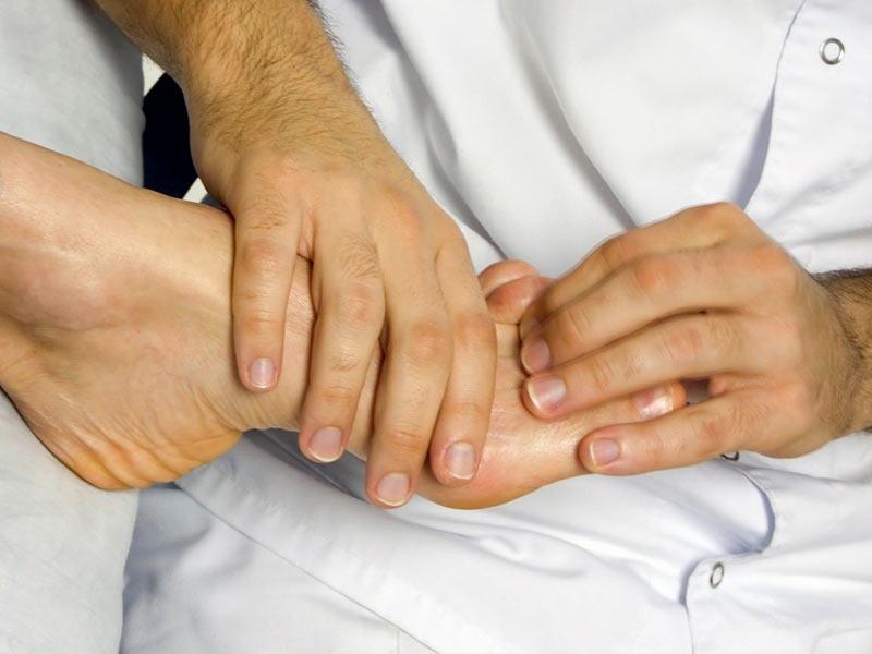 ногтевой сустав большого пальца
