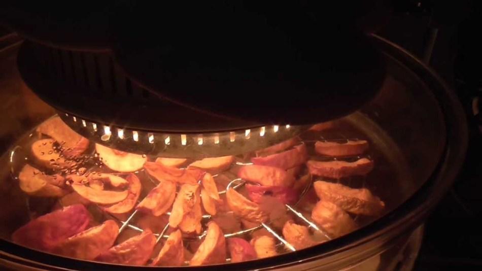 как сушить яблоки в духовке с конвекцией