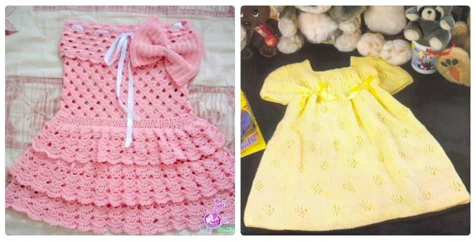 Все о вязании для девочек двух лет