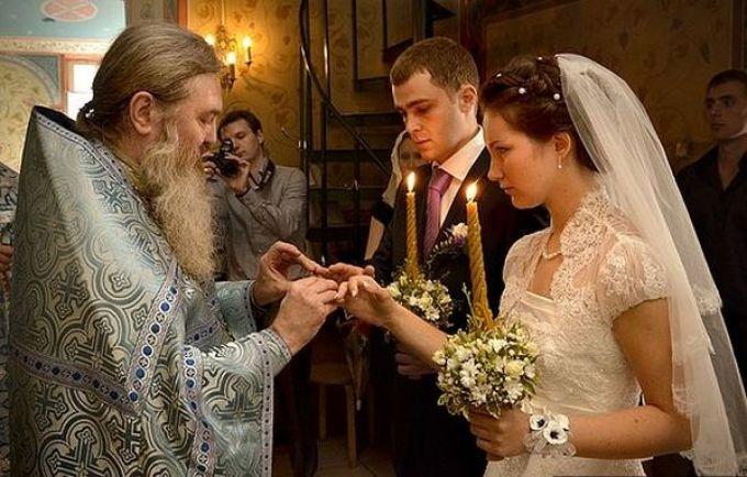 Венчание в церкви сколько раз можно