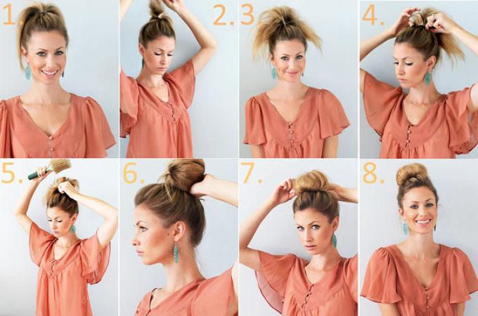 Простые и быстрые прически на средние волосы на каждый день