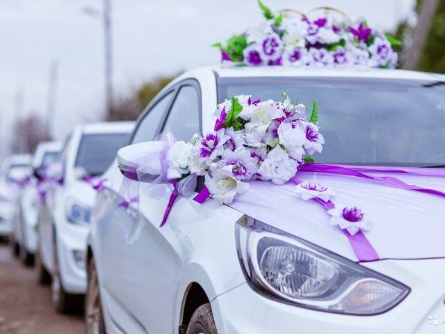 как украсить автомобиль на свадьбу своими руками