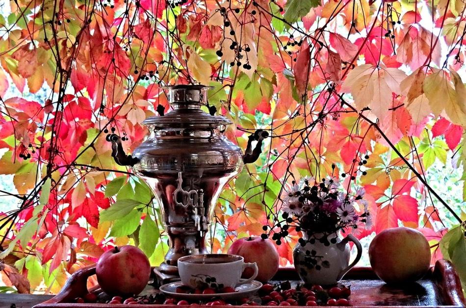 Чаепитие с самоваром - чудесный повод для общения