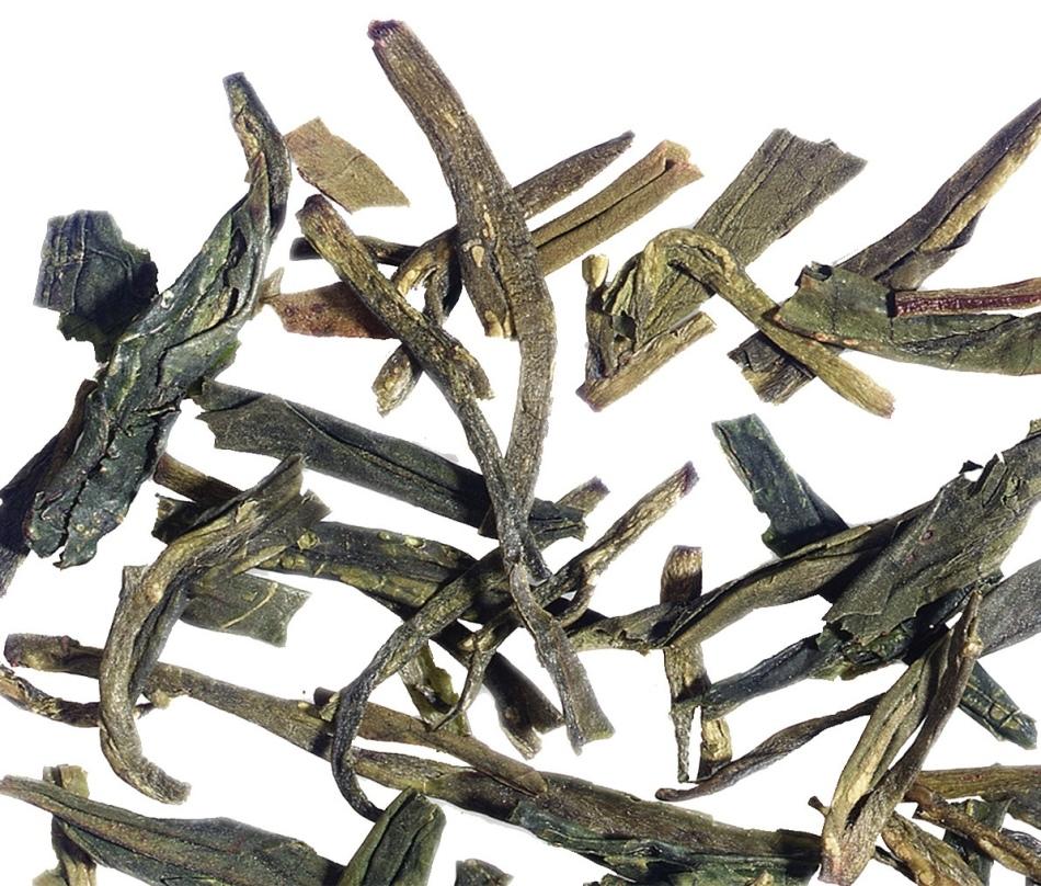 Так выглядит зеленый жасминовый чай лунг чинг лайт