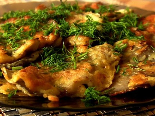 жареная с грибами картошка как пишется правильно