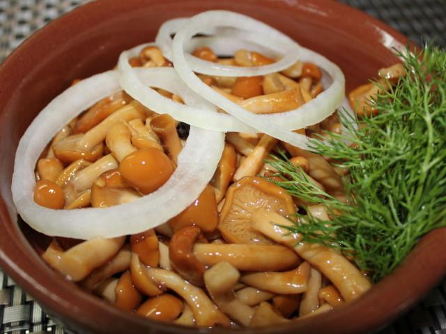 опята маринованные рецепты вкусные с фото