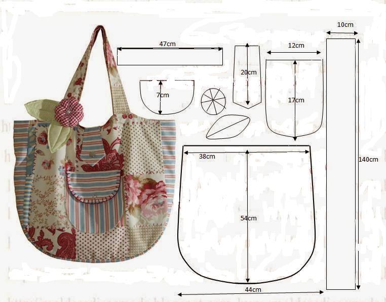 Как самой сшить пляжную сумку