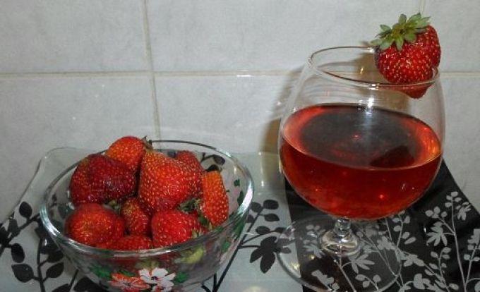 Вино из клубники в домашних условиях рецепт с пошаговым фото