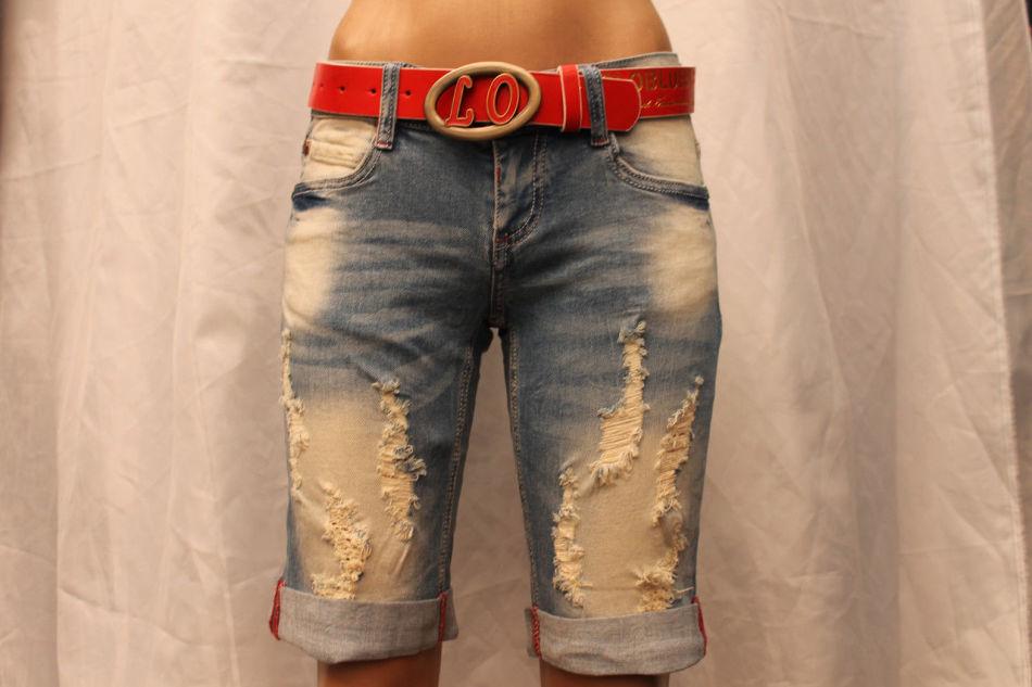 Как сделать потертые шорты 288