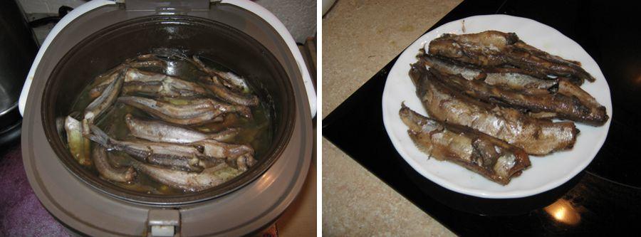 Как сделать консервы из речной рыбы в мультиварке?