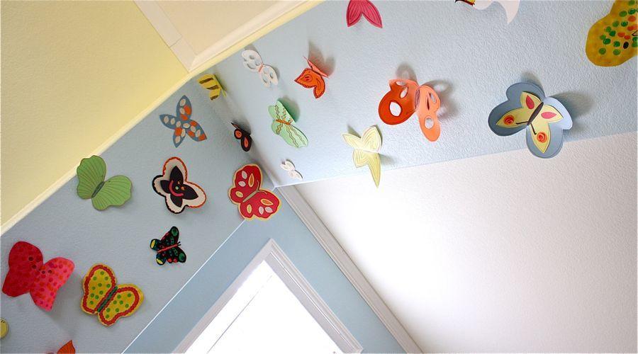 Поделки комнаты из бумаги