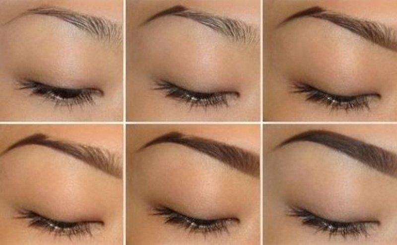 Фото как сделать красивые брови