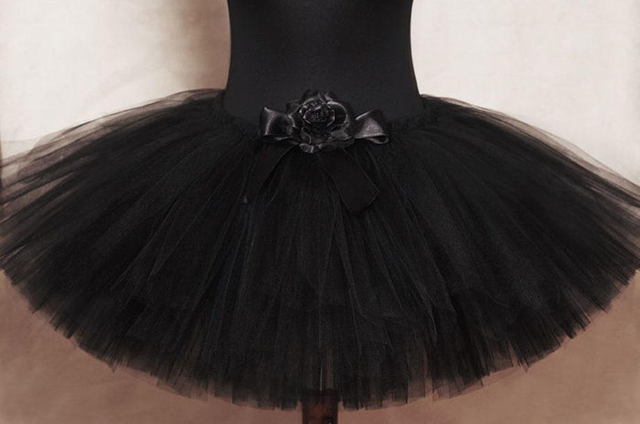 Накрахмалить черное платье