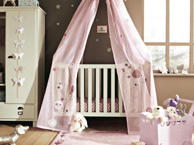 Как сшить балдахин на детскую кроватку: выбор ткани и 59