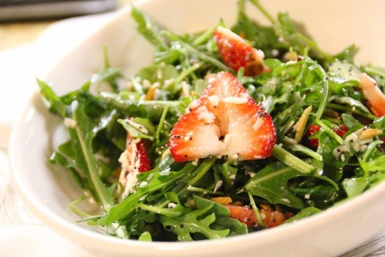 салат листовой рукола рецепты салатов