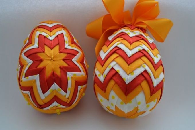 поделки пасхальные яйца