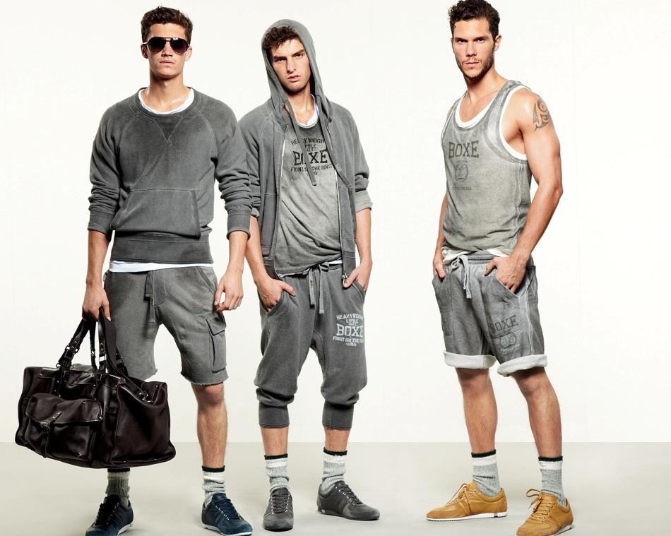 Стильная уличная спортивная мода 2018-2019 года для парней, мужчин