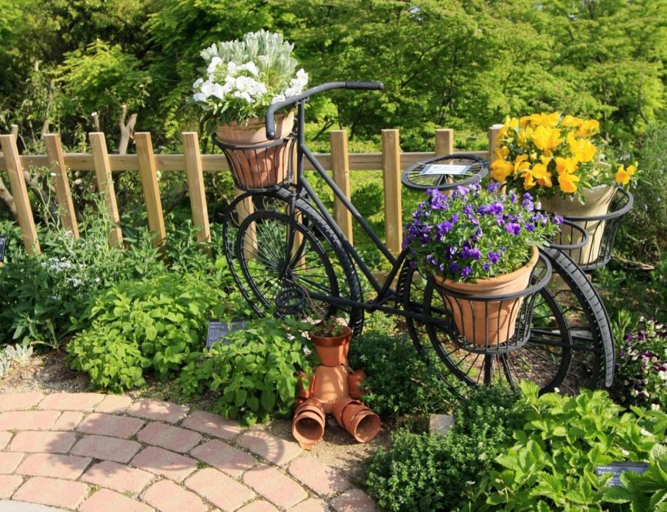 Сад и его декор своими руками