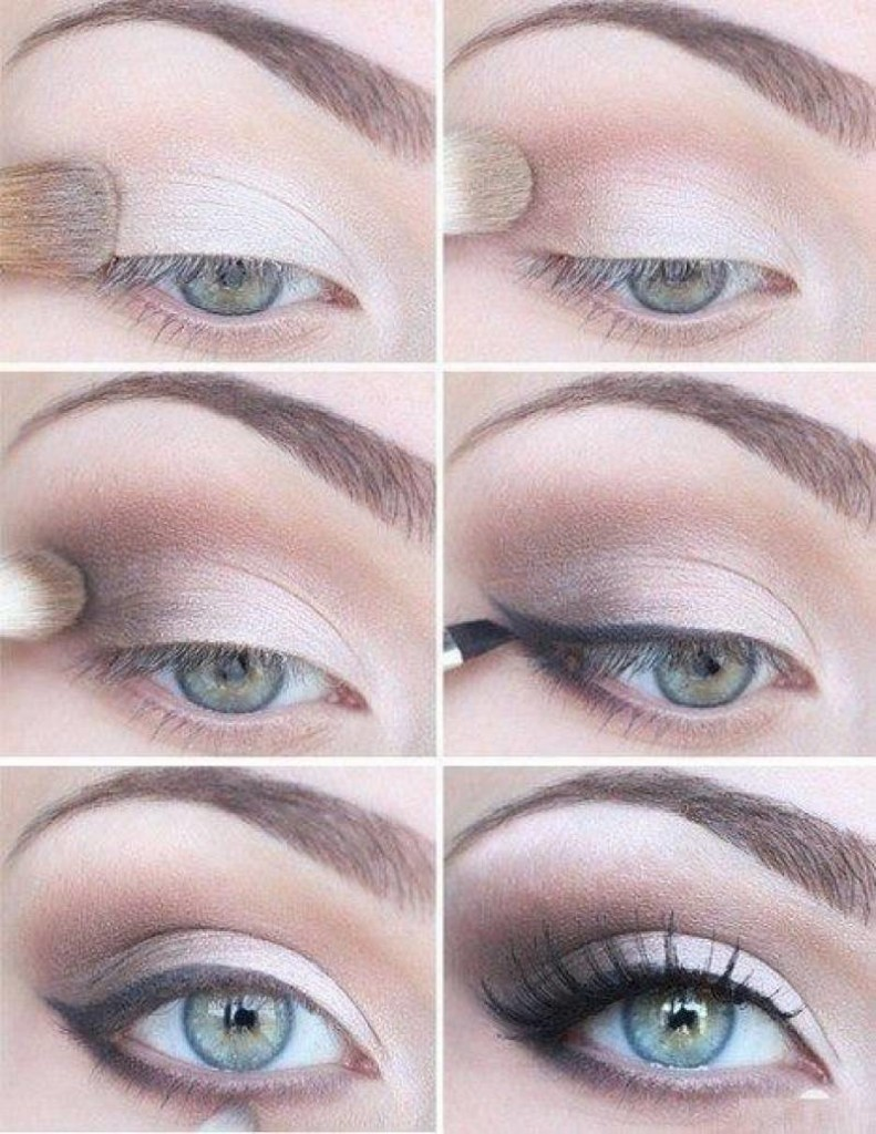 Как накрасить большие, маленькие, узкие, с нависшим веком глаза тенями? Как накрасить тенями уголки глаз?