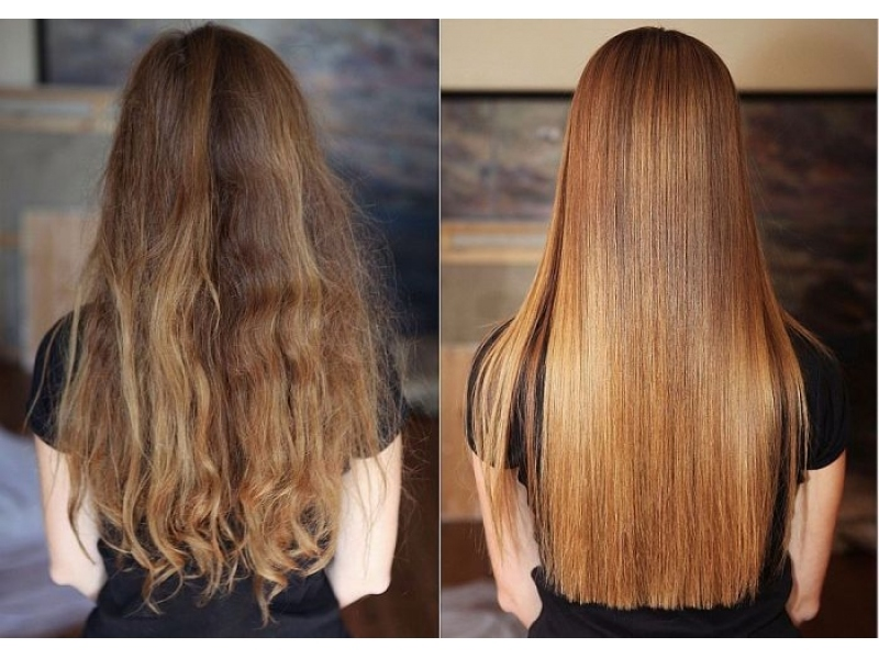 Обесцвечивание волос маслом