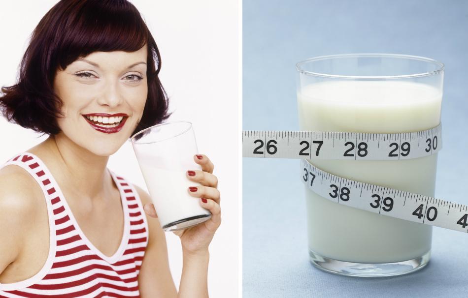 Как пить кефир на ночь чтобы похудеть