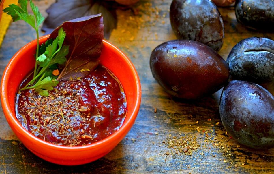 Грузинский соус ткемали