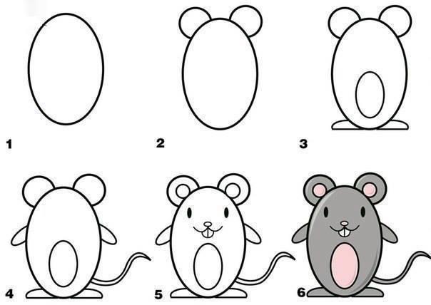 Как нарисовать животных своей рукой