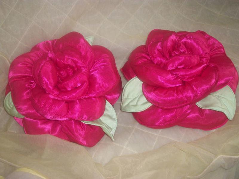 Подушка роза фото мастер класс