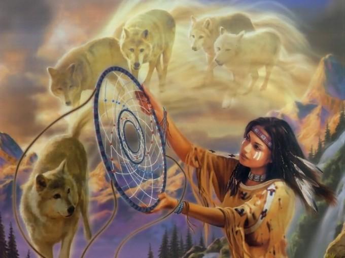 Ловец снов - это оберег индейцев северной америки.