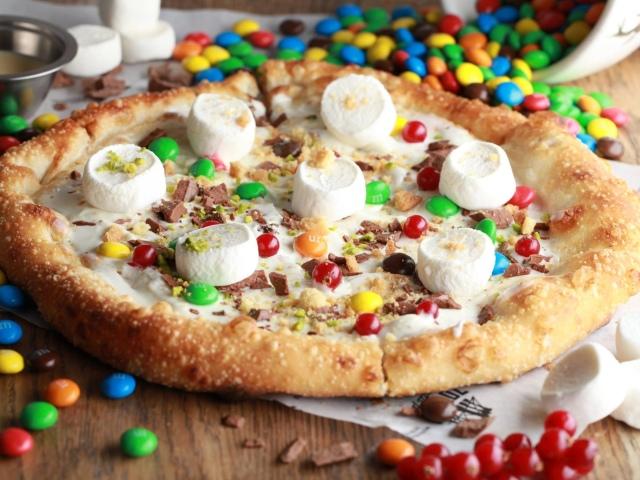 как приготовить сладкую пицца