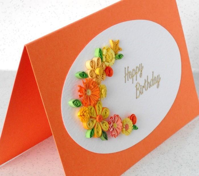 Подарки день рождения руками квиллинг