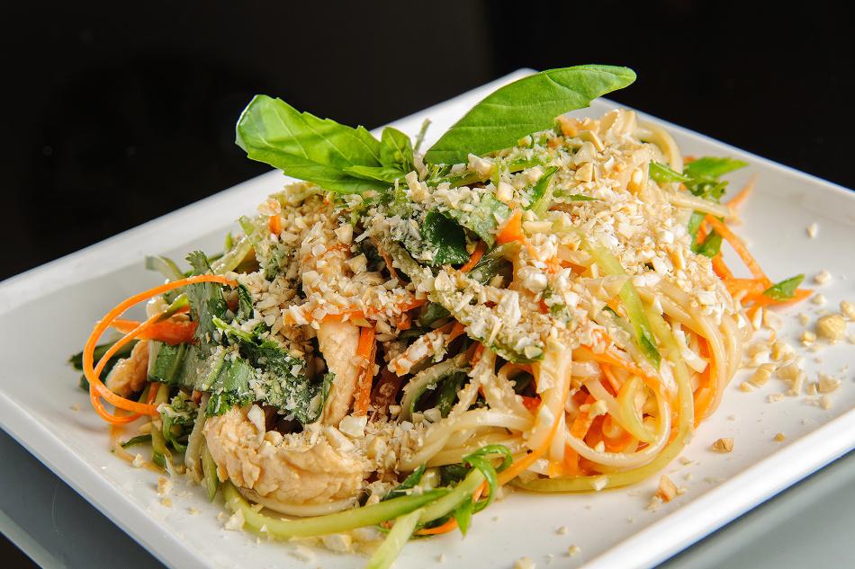 китайский салат домашний с лапшой рецепт