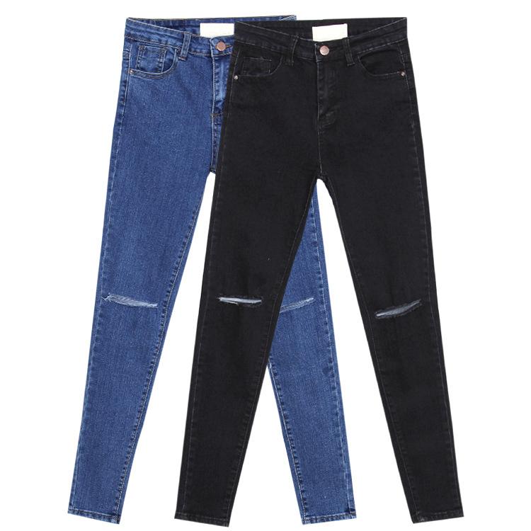 Как сделать дырки на джинсах черных
