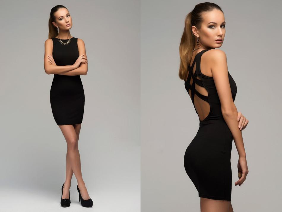 Купить обтягивающие короткие платья