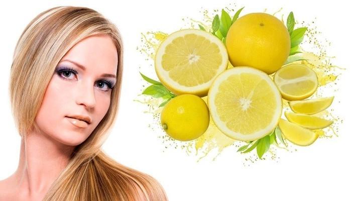 Лук мед лимон волосы