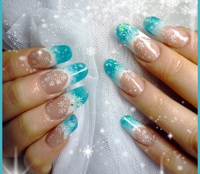 Дизайн ногтей 2017 новинки зима гель