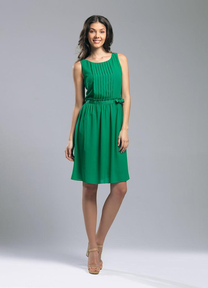 Платье из шифона без выкройки может быть разной длины