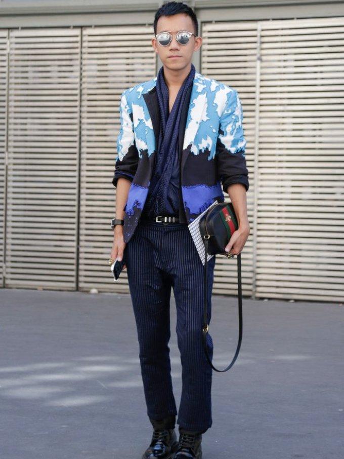 Уличная мужская мода парижа 2018-2019 года - лаконично, но броско