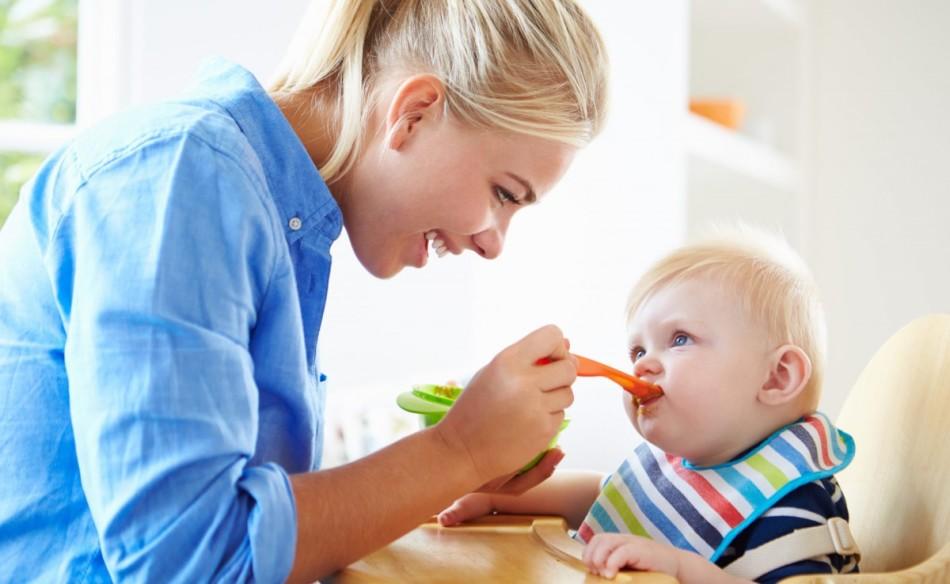 Прикорм детям до годика