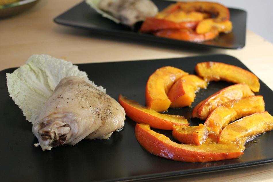 Как приготовить тыкву с курицей в духовке