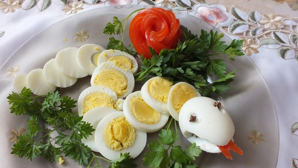 Фаршированные яйца для детей рецепт