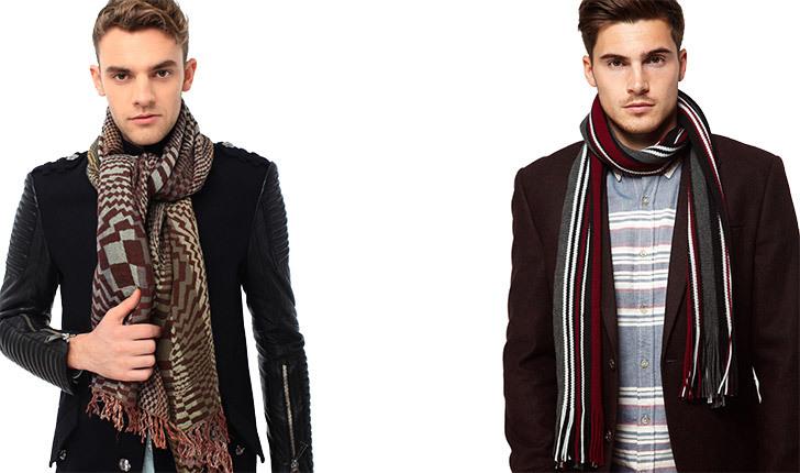 комплект как замотать шарф мужской видов термобелья