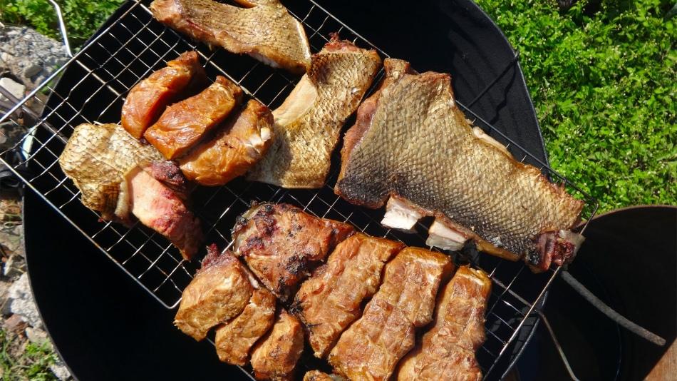 Как правильно коптить рыба в домашних условиях 345