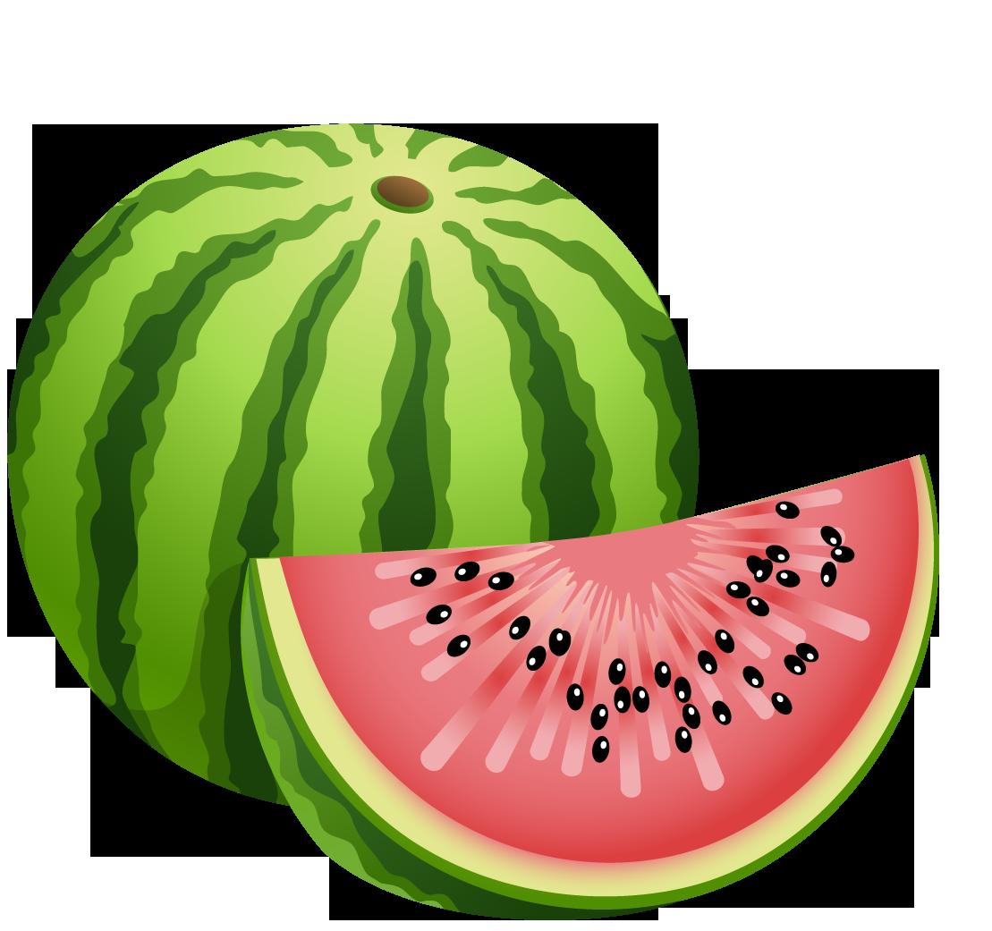 Рисунки фрукты арбуз