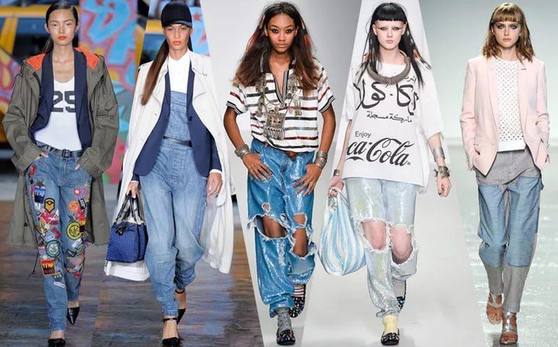 Молодежная Мода Одежда 2017